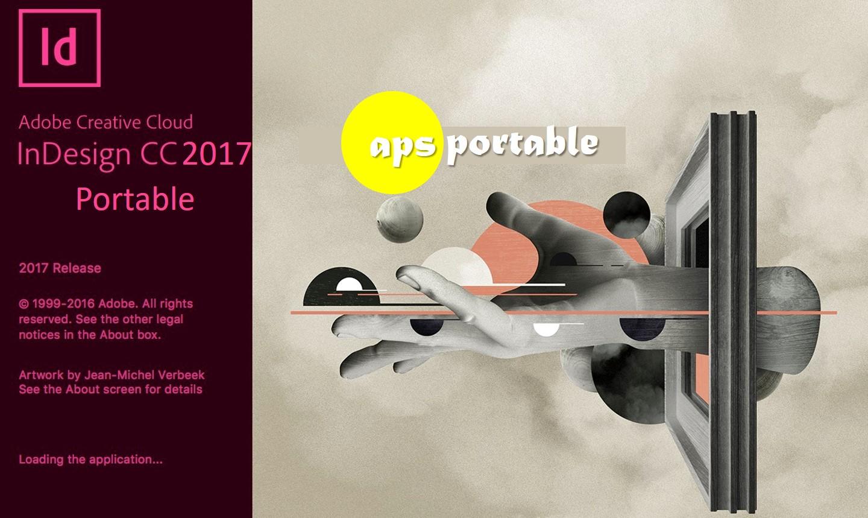 Adobe Indesign CC 2017 portable