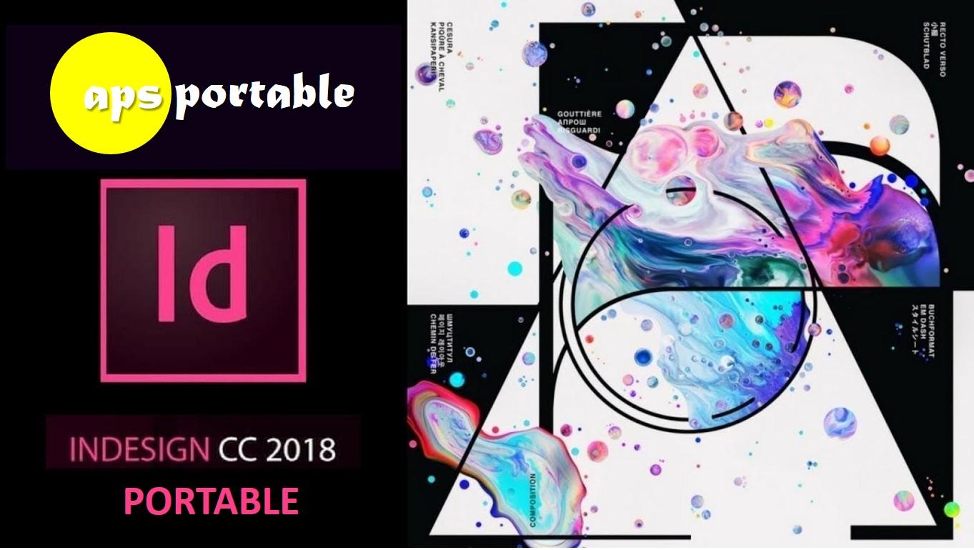 Download Adobe Indesign CC 2018 portable V13.1.0